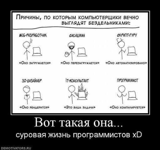 Жизнь программистов