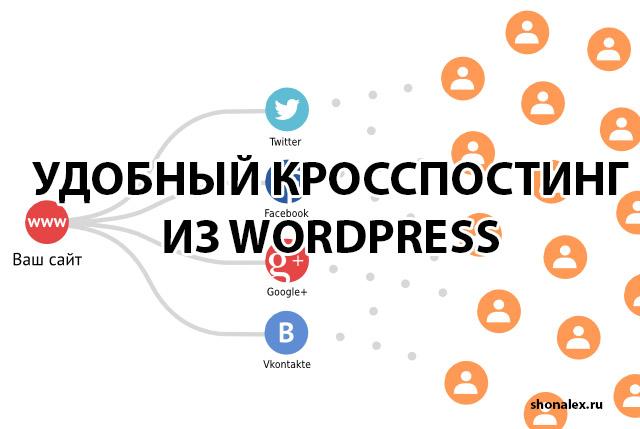 кросспостинг wordpress